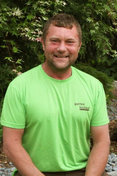 Jozef Antolin Vorarbeiter in der Gartengestaltung
