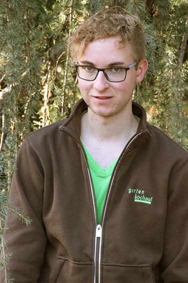 Michael Paulus Lehrling im Gartencenter