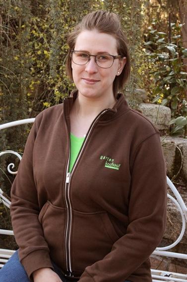 Sabrina Müller Gartencenter Verkäuferin