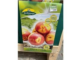 Für Ihren Wellnessgarten - Pflanzkartoffel zum Aussetzen, gelb mit roter Schale, mittelfrüh, festkochend