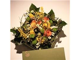 Symbolfoto - Für Ihren Wellnessgarten - Blumenbox mit Frühlingsduft