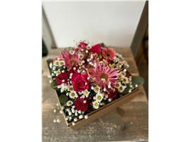 Für Ihren Wellnessgarten - Elegante Blütenbox