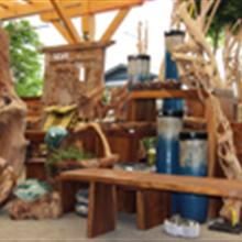 Holzkunst aus Bali