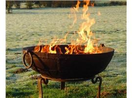 Feuerschale Kadai Original - Für Ihren Wohlfühlgarten