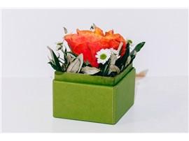 """Blumenbox Lieboch """"Orange Rose"""" - In der Gärtnerei Kochauf bei Graz"""